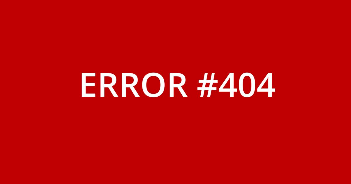 Die perfekte SEO Fehlerseite - HTTP Error 404 für deine Webseite